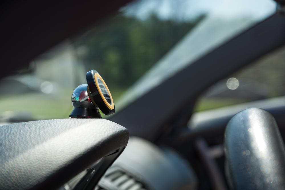 Универсальный автомобильный держатель Trendvision MagBall Grey - фото 3