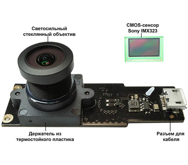 Скрытая камера с выносным обьективом